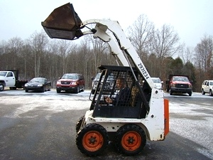 1995 BOBCAT 553 SKID STEER LOADER 25HP DIESEL