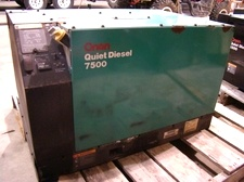 USED ONAN GENERATOR 7.5 QUITE DIESEL FOR SALE