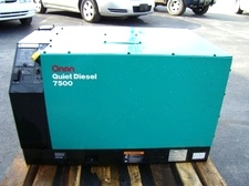 Used Onan Generator 7.5 Quite Diesel For Sale .