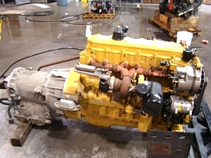 2003 CATERPILLAR 3126 330HP DIESEL ENGINE COMPLETE WITH ALLISON TRANS USED FOR SALE