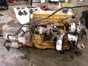 CATERPILLAR 3126 330HP DIESEL ENGINE USED FOR SALE