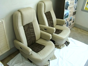 USED FLEXSTEEL RV CAPTAIN CHAIRS FOR SALE