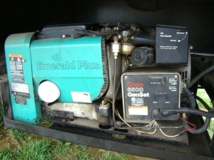 Fleetwoodmotorhomeparts together with Onan 542 0469 Emerald Generator Muffler Exhaust Kit also S2 together with 331736154822 moreover Watch. on onan rv generator parts