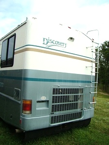 RV PARTS FLEETWOOD DISCOVERY YEAR 2000 MOTORHOME SALVAGE