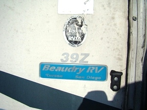USED MOTORHOME PARTS 2003 FLEETWWOD BOUNDER 39 Z DIESEL