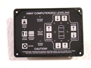 Used HWH Leveling Touch Pad AP34884