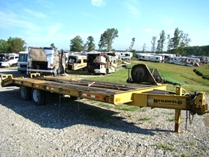 20 FT DYNAWELD EQUIPMENT TRAILER YEAR-2000.FOR SALE LONDON KY BY VISONE RV
