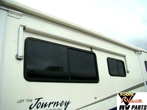 WINNEBAGO JOURNEY PARTS YEAR 2001. RV SALVAGE YARD