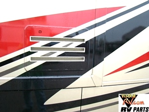 2013 DAMON OUTLAW MOTORHOME PARTS - TOY HAULER